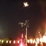 納涼祭2015花火